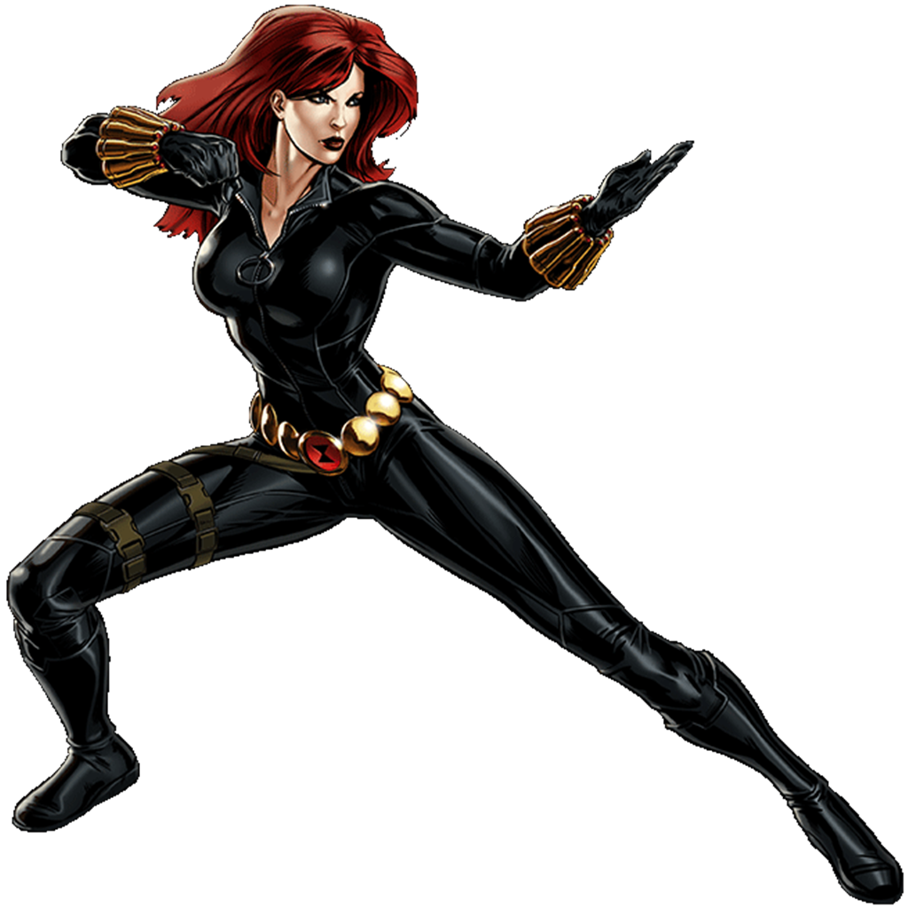 Black Widow Hd PNG Image