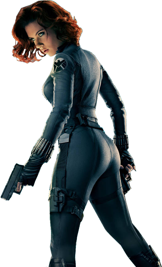 Black Widow Png Clipart PNG Image