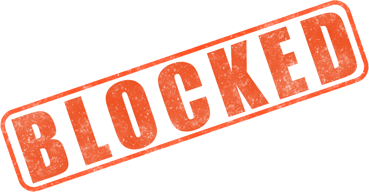 Blocked Png Clipart PNG Image