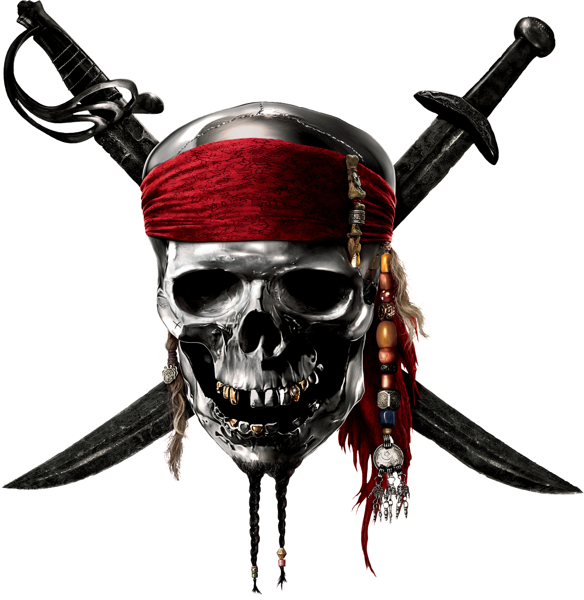 Caribbean Pirates Skull Lego Of Sparrow Game PNG Image