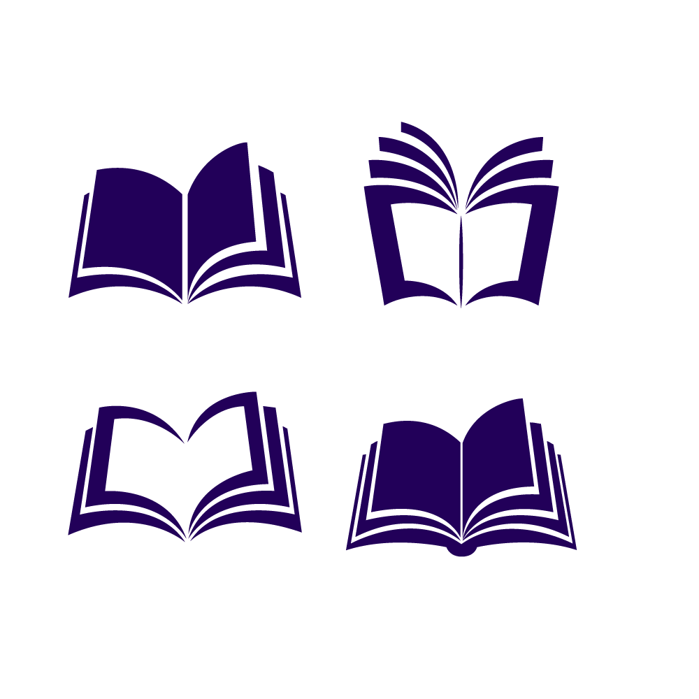 Vector Euclidean Book Purple Icon Free HQ Image PNG Image
