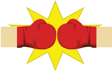 Boxing Gloves Transparent PNG Image