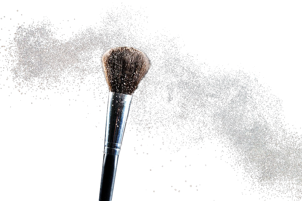 Powder Cosmetics Makeup Brush Face Download HD PNG PNG Image