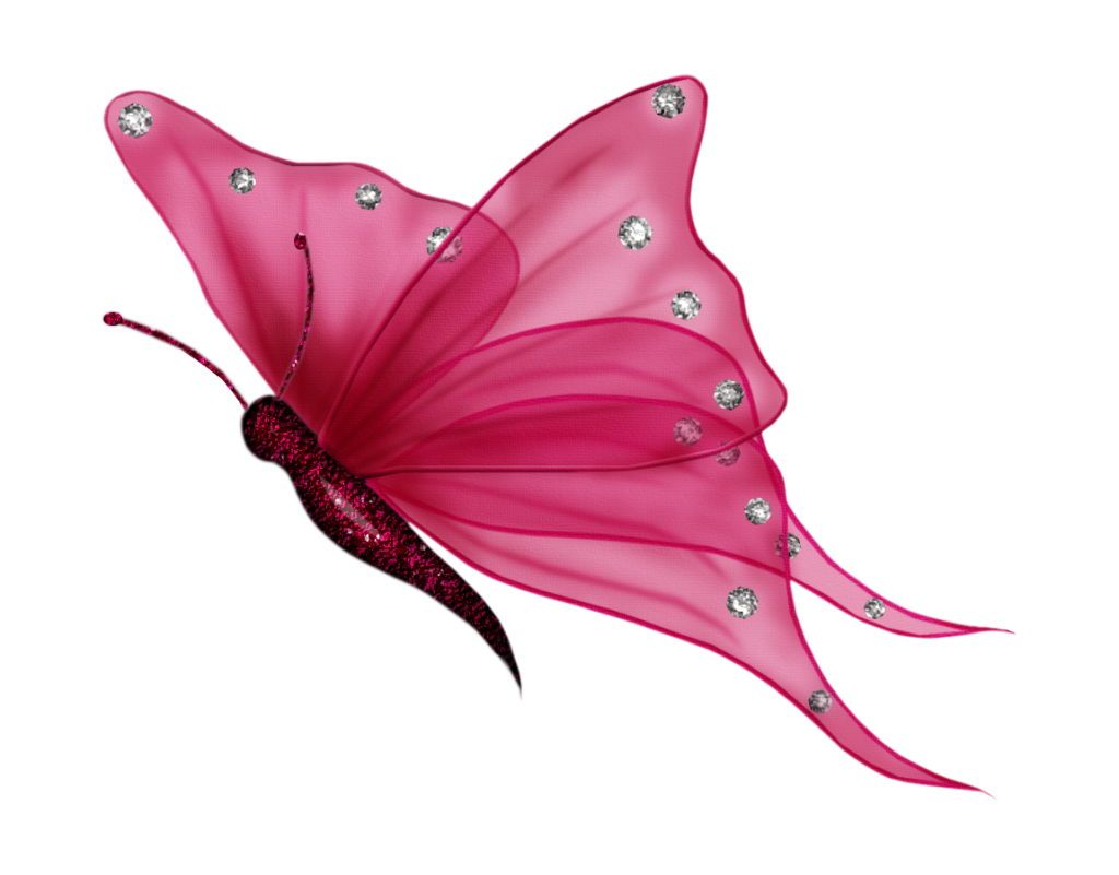 Flying Butterflies Transparent Background PNG Image