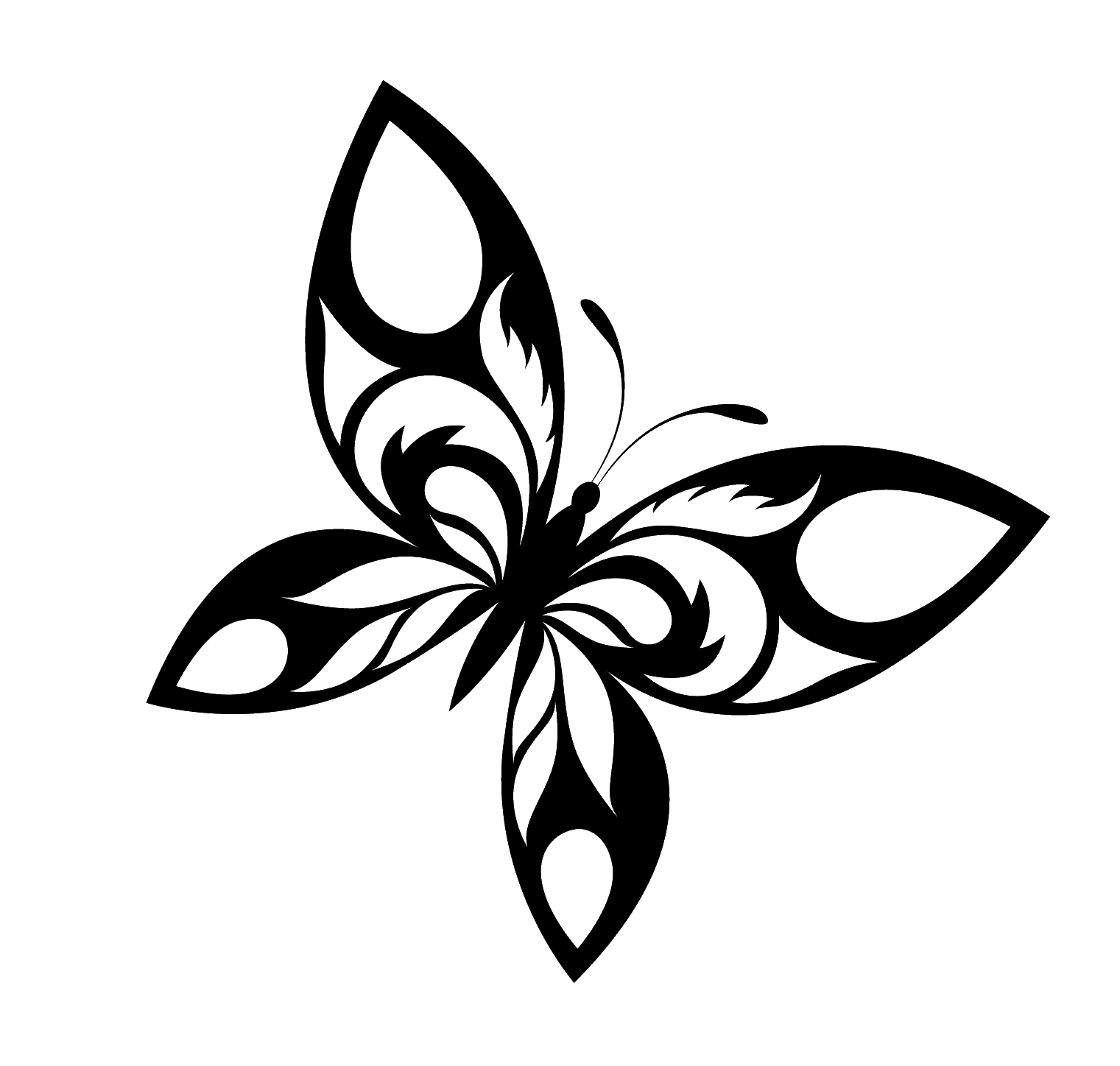 Butterfly Tattoo Designs Free Download Png PNG Image
