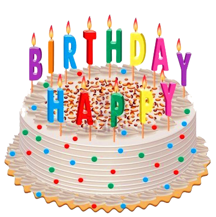 Birthday Cake Transparent Background PNG Image