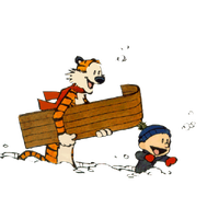 Calvin And Hobbes Transparent PNG Image