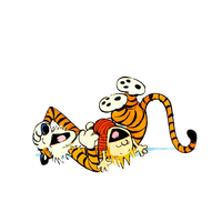 Calvin And Hobbes Photos PNG Image