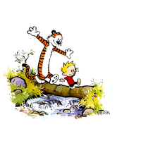 Calvin And Hobbes Image PNG Image