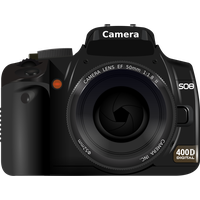 Photo Camera Clipart PNG Image