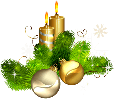 Christmas Candle Png Image PNG Image