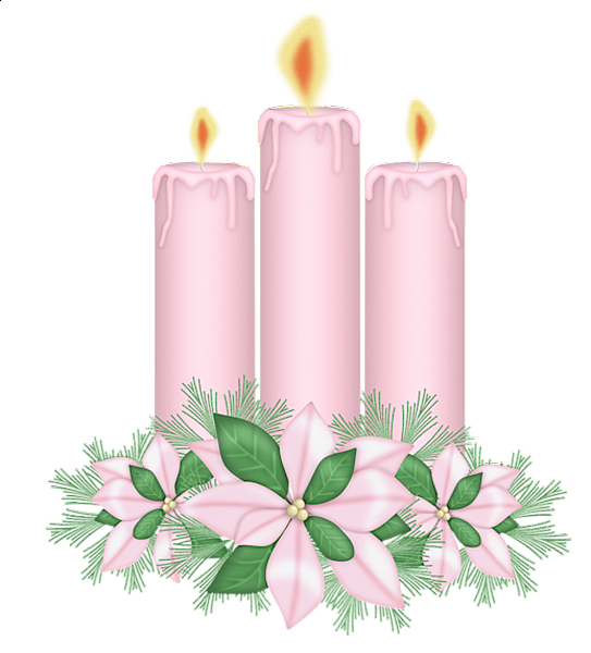 Candles Clipart PNG Image
