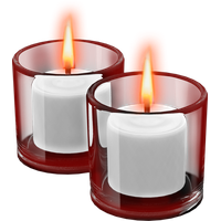 Candles Transparent Background PNG Image