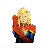 Captain Marvel File PNG Image