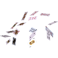 Flying Cards Png PNG Image
