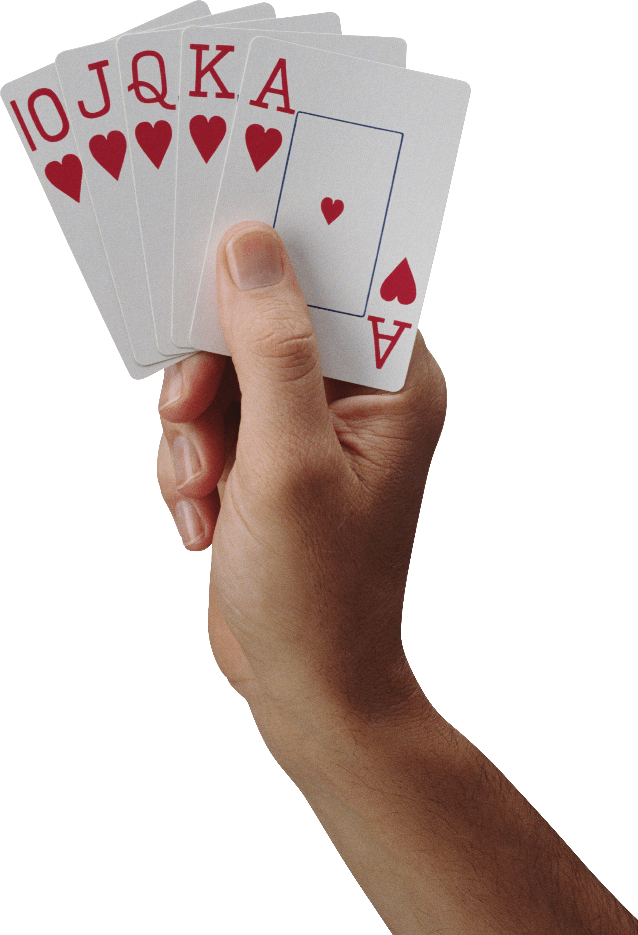 Cards In Hand Png PNG Image