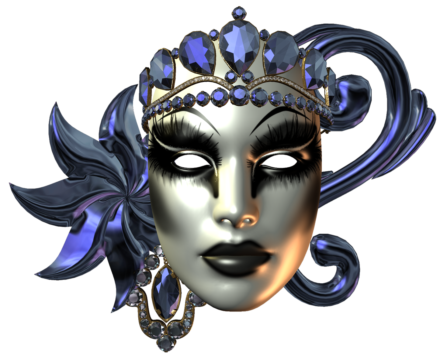 Carnival Mask Picture PNG Image