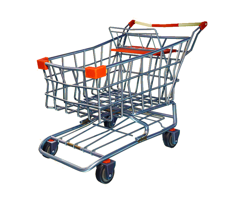 Battle Royale Shopping Fortnite Cart PNG Image High Quality PNG Image