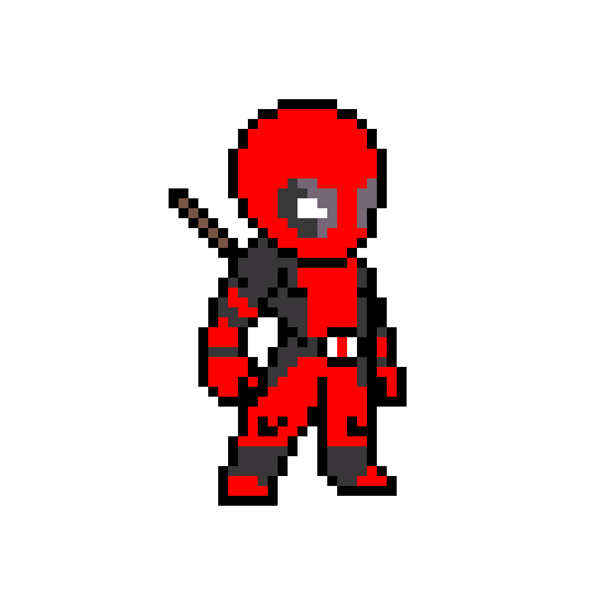 Spiderman Art Angle Deadpool Pixel Free Clipart HQ PNG Image