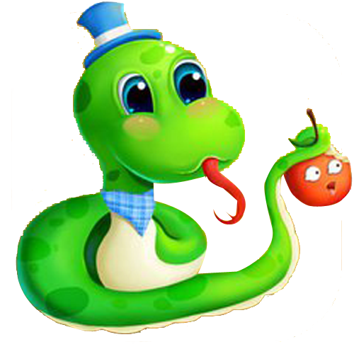 Green Toy Eating Snake Slitherio HQ Image Free PNG PNG Image