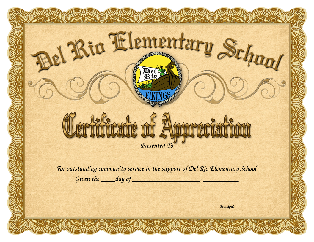 Certificate Template Picture PNG Image