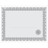 Certificate Template Transparent PNG Image