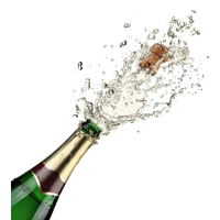 Champagne Popping Free Download PNG Image