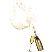 Champagne Popping Hd PNG Image