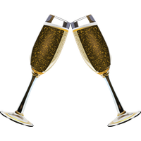 Champagne Transparent PNG Image