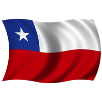 Chile Flag Png File PNG Image