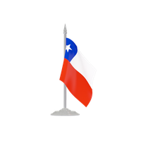 Chile Flag Transparent PNG Image
