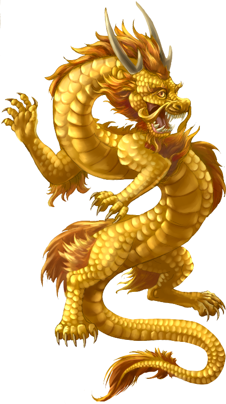 Chinese Dragon Transparent PNG Image