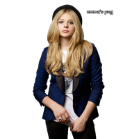 Chloe Grace Moretz Transparent Background PNG Image