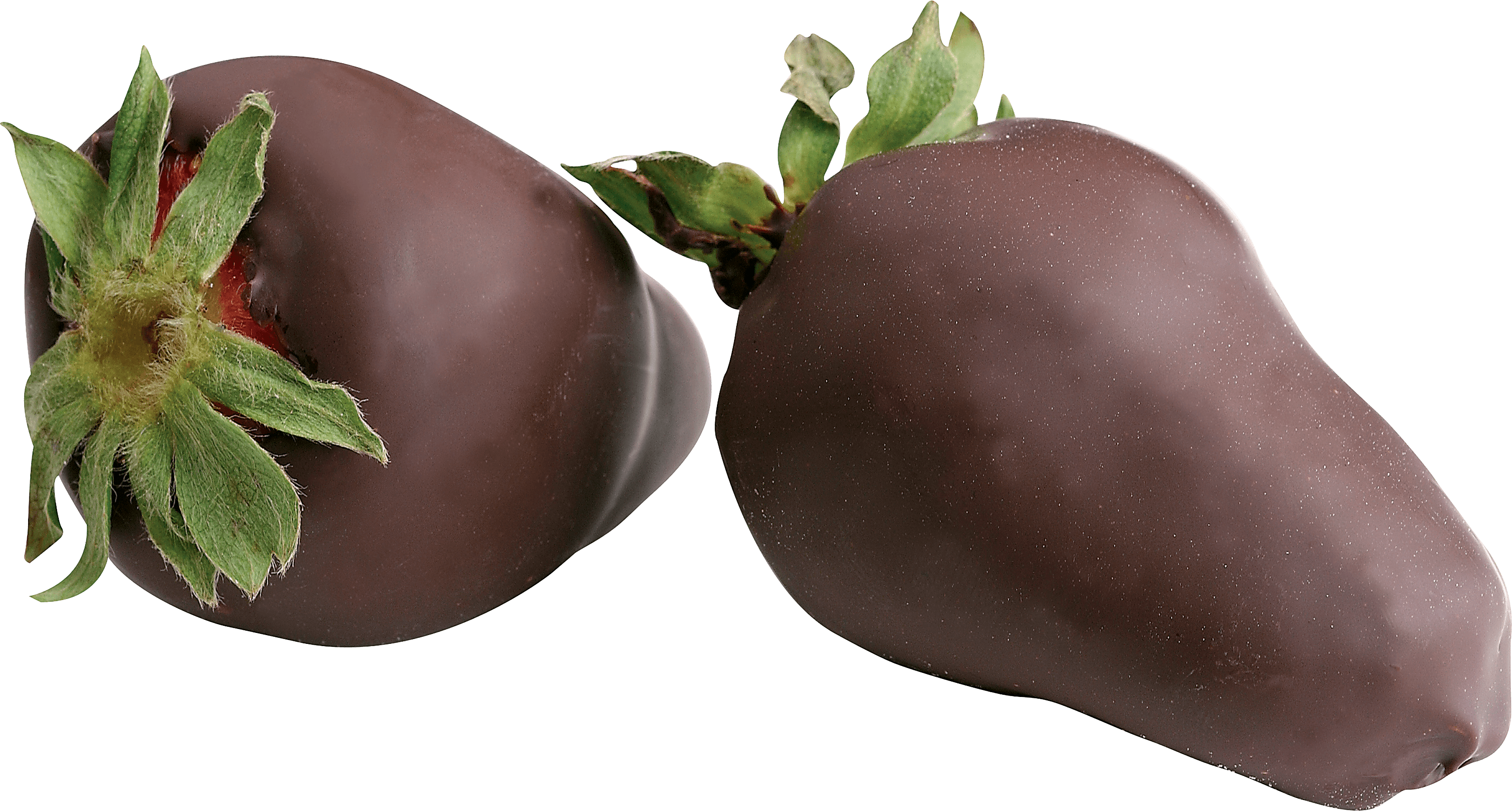 Strawberry In Chocolate Png Image PNG Image
