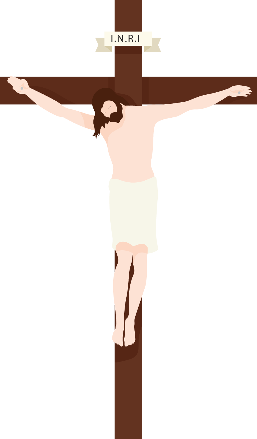 Christian Christ Cross Jesus Crucifix Christianity PNG Image