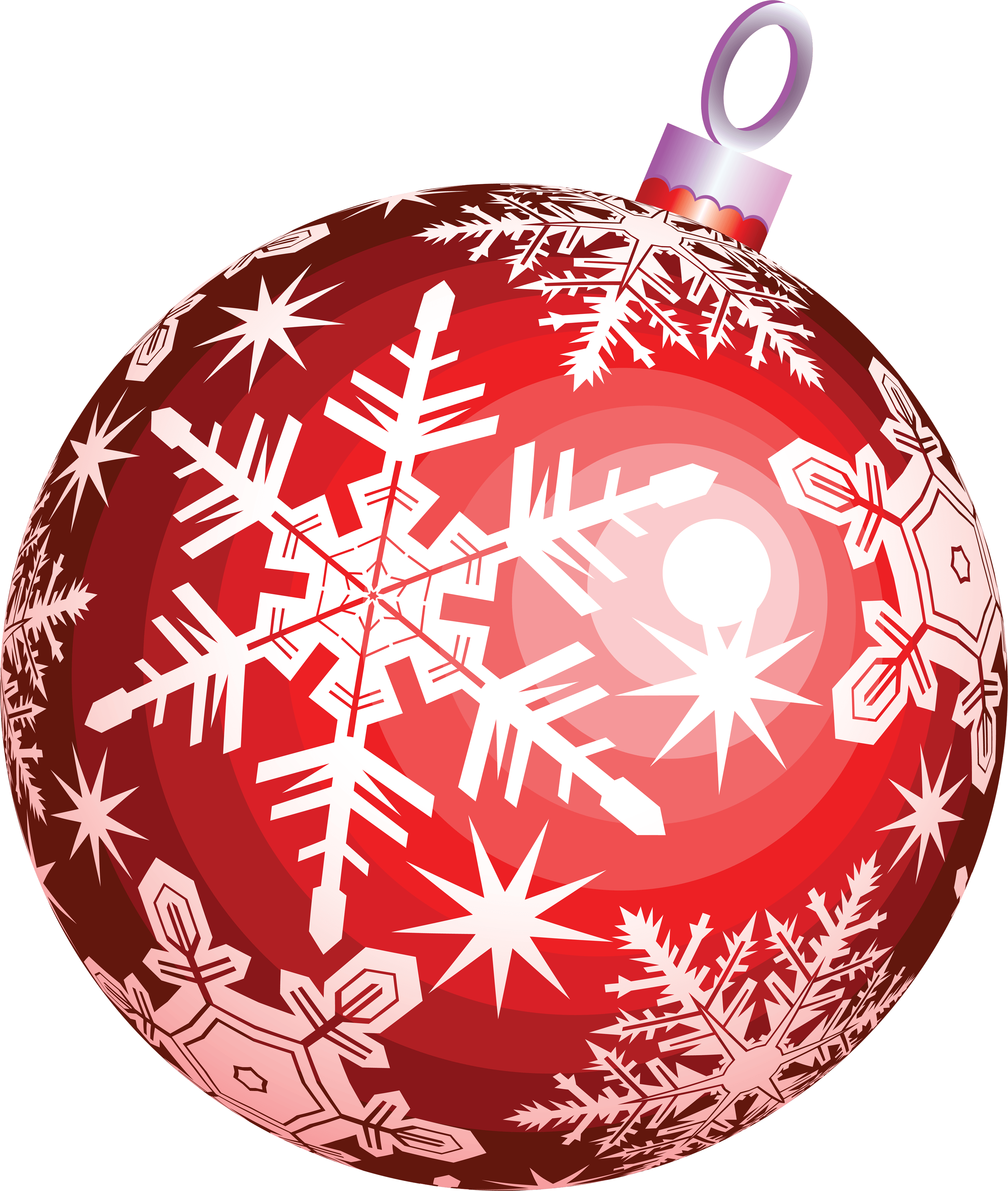 Red Christmas Ball Toy Png Image PNG Image