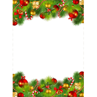Christmas Top Border Png.Download Border Free Png Photo Images And Clipart Freepngimg