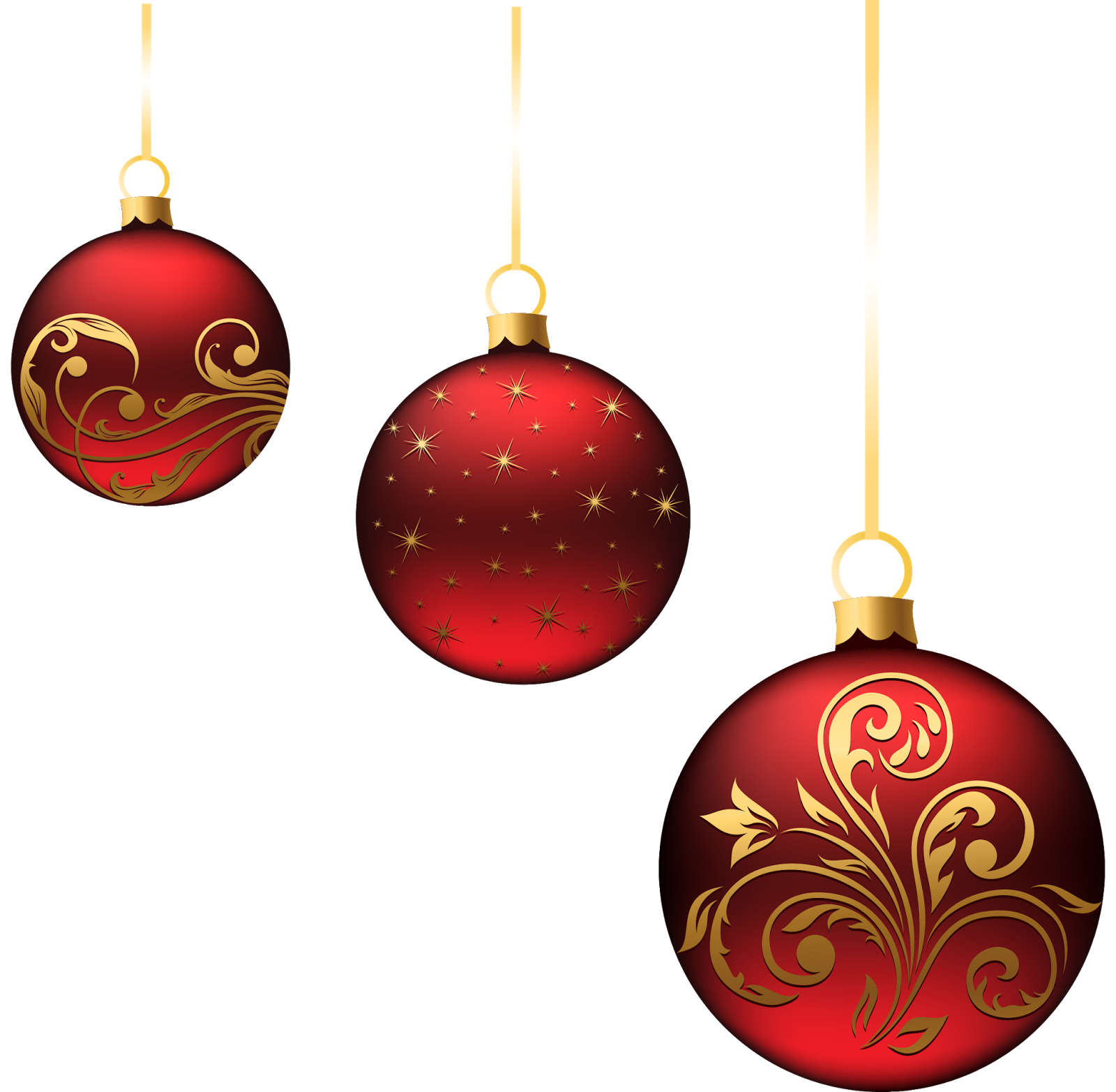 Christmas Ornament Transparent Background PNG Image