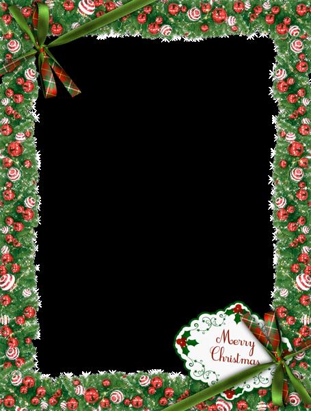 Download Christmas Frame Transparent Image HQ PNG Image ...