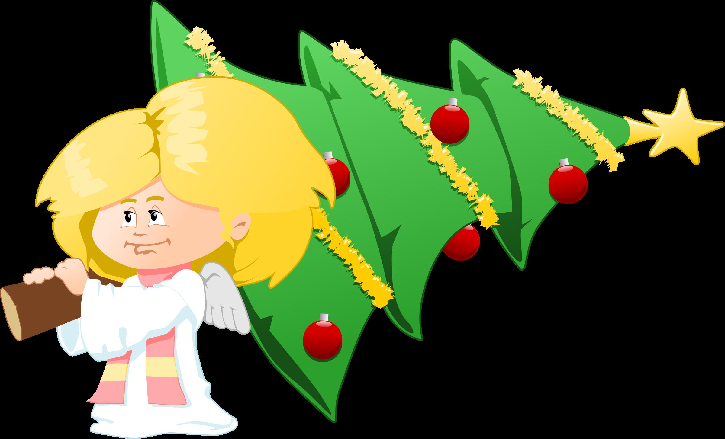 Download Christmas Angel Clipart Hq Png Image Freepngimg