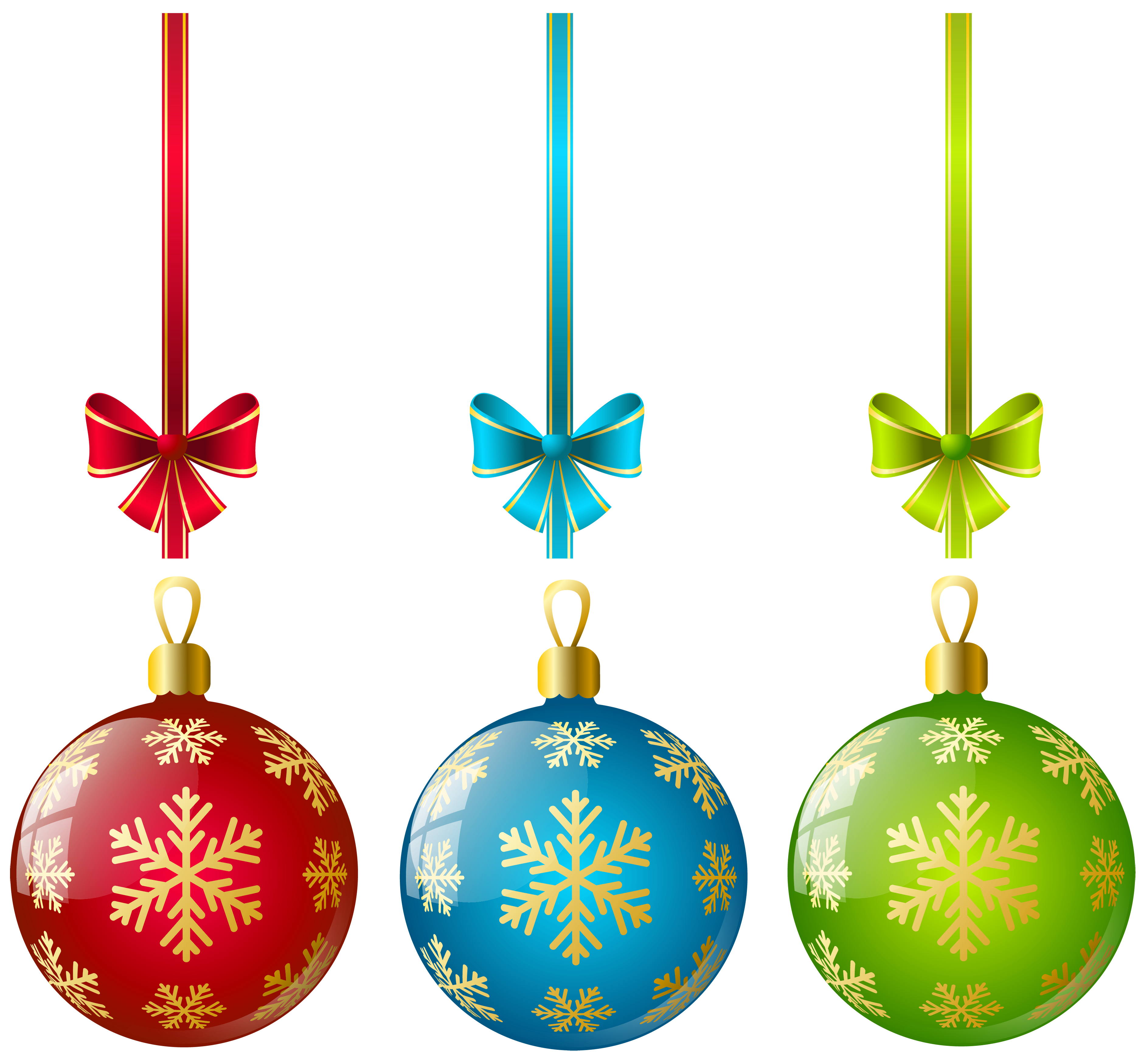 Christmas Ornaments File PNG Image