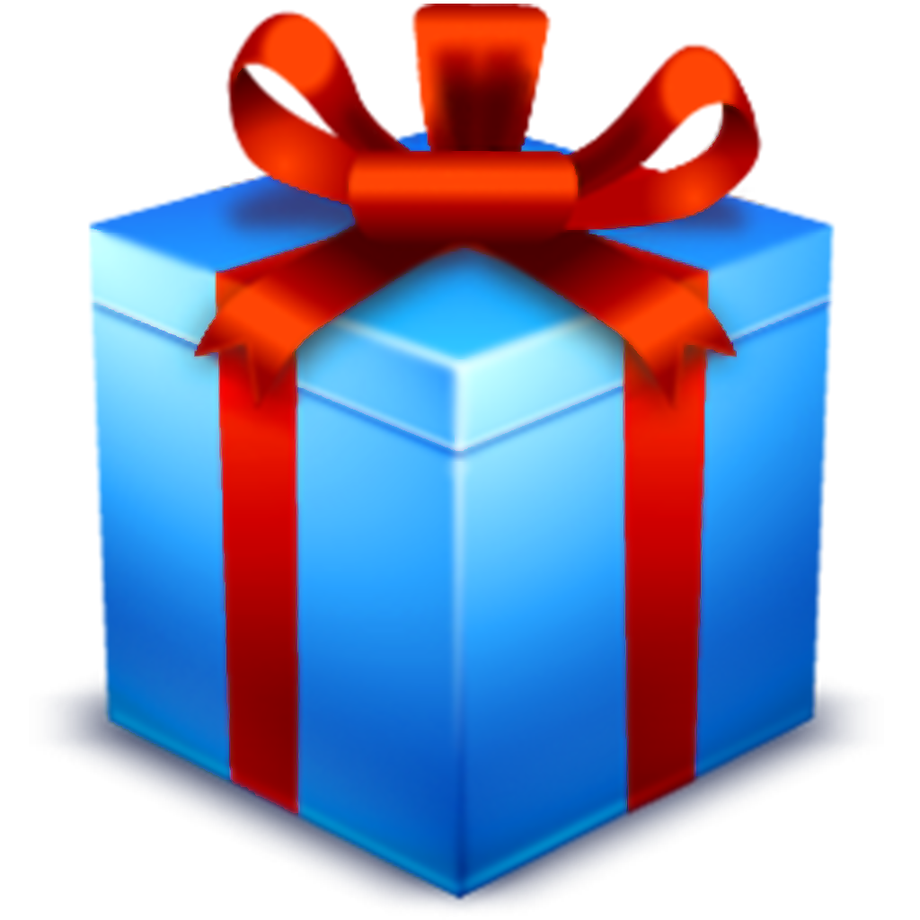 Blue Product Gift Icons Computer Christmas PNG Image