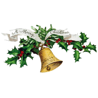 Christmas Bell Png Clipart PNG Image