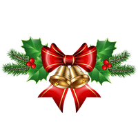 Christmas Bell Transparent PNG Image