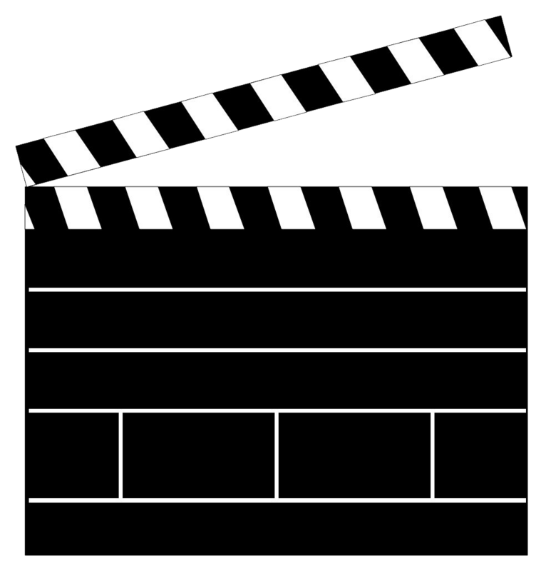 Clapperboard Png Clipart PNG Image
