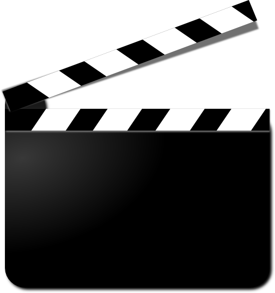 Clapperboard Transparent PNG Image