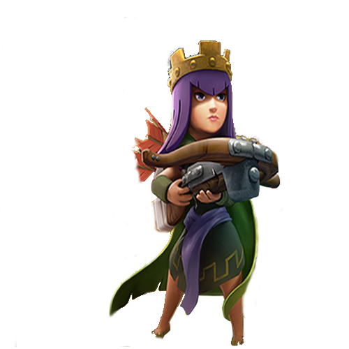 Clash Of Clans Archer Queen Png PNG Image
