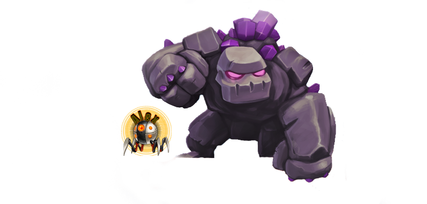 Clash Of Clans Golem Png PNG Image