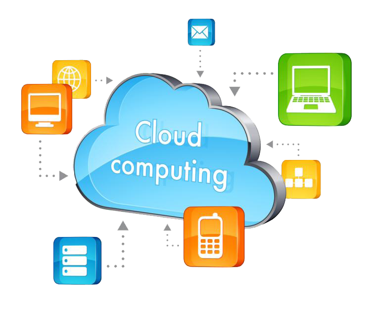 Cloud Computing Transparent Background PNG Image