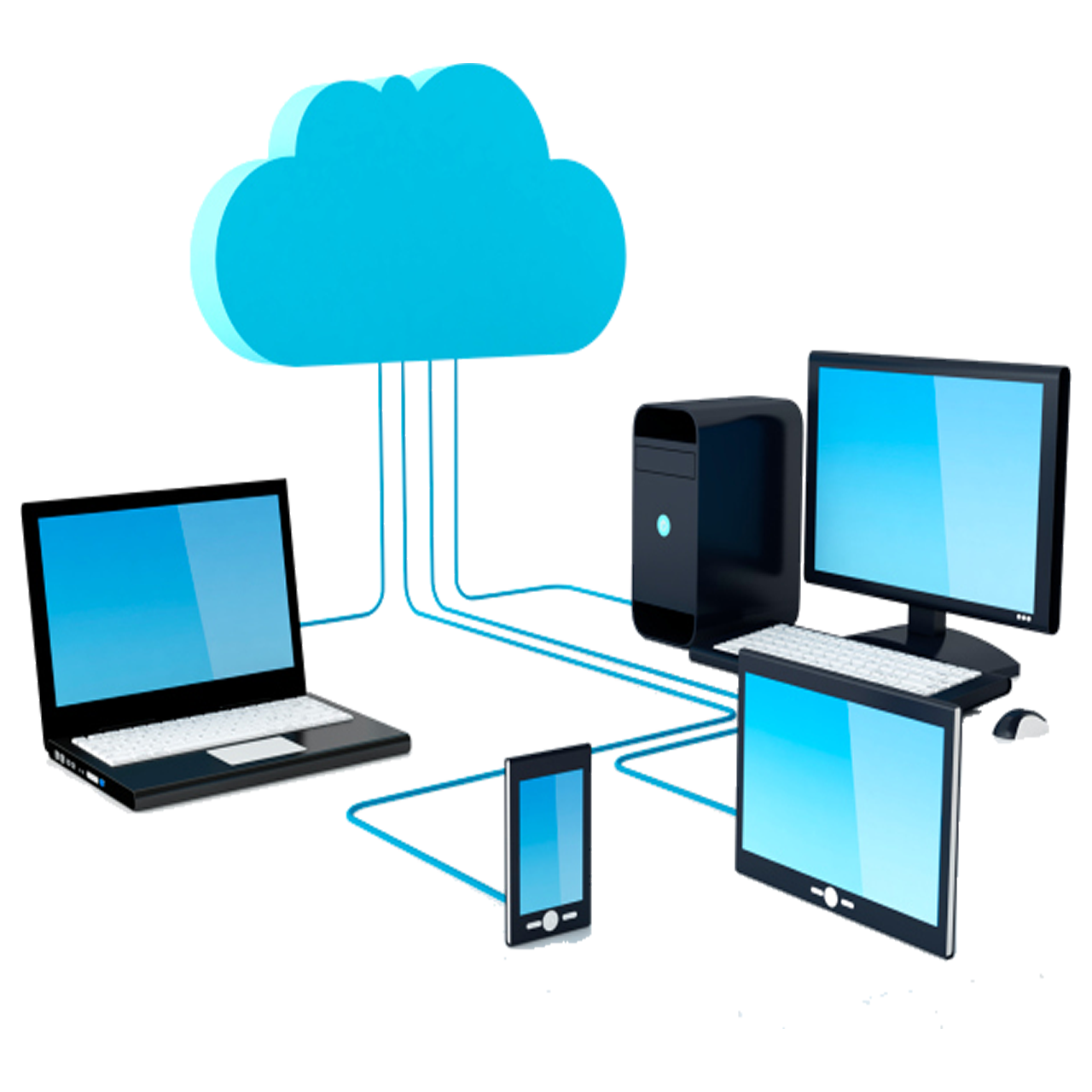 Networking Computing Storage Internet Security Transparent Cloud PNG Image